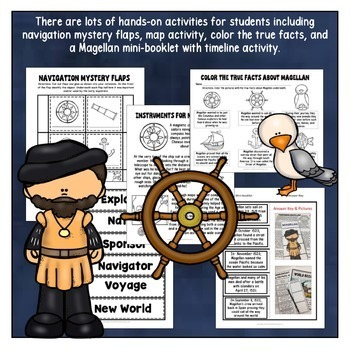 Early Explorers: Magellan Unit with Articles, Activities, and Flip Book
