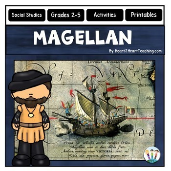 Early Explorers: Magellan Complete Unit with Articles & Activities