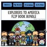 Early Explorers: 7 Flip Books for Cabot, Hudson, De Soto, Balboa, Cartier, Leon