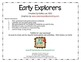 Early Explorers - A Social Studies Game