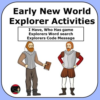 Early Explorers Activities