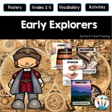 Early Explorers Activities & Vocabulary Posters