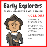 Early Explorers Chart + Word Search
