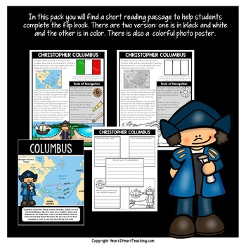 Early Explorers: Christopher Columbus Flip Book