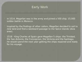 Early Explorers - Ferdinand Magellan - Elementary