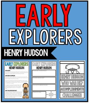 Early Explorers - Henry Hudson