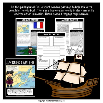 Early Explorers: Jacques Cartier Flip Book