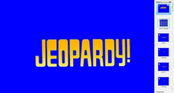 Early Explorers Jeopardy Game