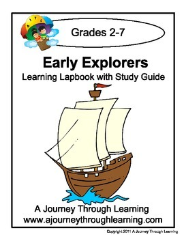 Early Explorers Lapbook with Study Guide