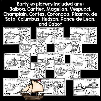 Early Explorers Mini Book Bundle for Early Readers
