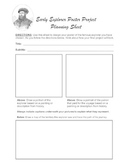 Early Explorers Poster Project Planner