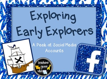 Early Explorers PowerPoint & Note Taker Chart - Social Media Twist