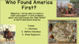 Early Explorers Presentation (Columbus, Vespucci, Erikson)