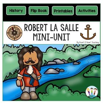 Early Explorers: Robert La Salle Flip Book