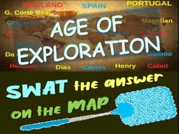 Early Explorers SWAT game - columbus, magellan, da gama, vespucci & more!