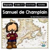 Early Explorers: Samuel de Champlain Unit with Articles, Activities & Flip Book