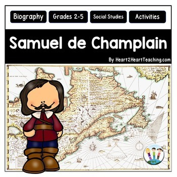 Samuel de Champlain Unit with Articles, Activities & Flip Book