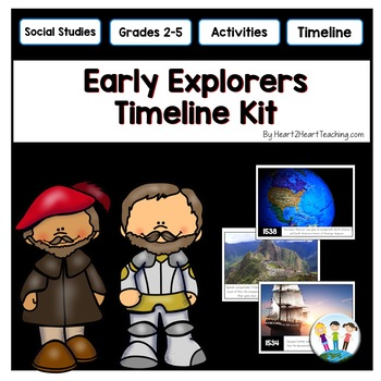 Early Explorers Timeline Kit with Posters & Activities