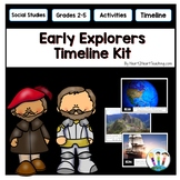 Early Explorers Activities: Timeline Kit with Photo Posters for Bulletin Boards