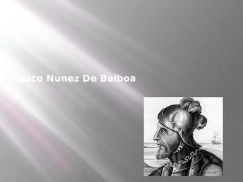 Early Explorers - Vasco Nunez De Balboa