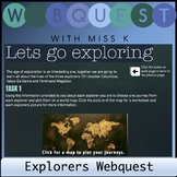 Early Explorers Web Quest