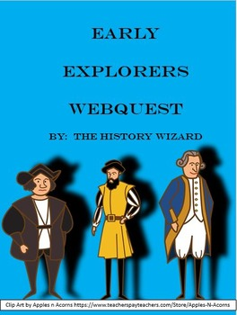 Early Explorers Webquest