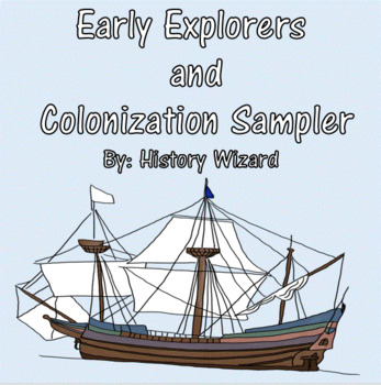 Early Explorers and Colonization Sampler