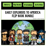 Early Explorers to America: 6 Flip Books for Cabot, Hudson, La Salle, Magellan