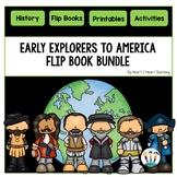 Early Explorers to America: 6 Flip Books for Cabot, Hudson, La Salle, Magellan