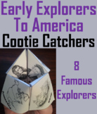 Early Explorers to America Activity/ Foldable