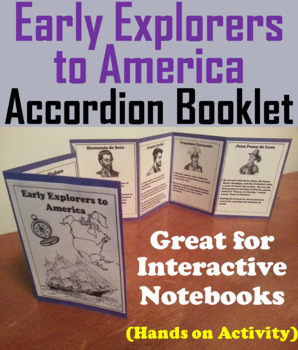 Early Explorers to America Interactive Notebook Activity