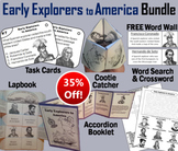 Early Explorers to America Task Cards and Activities Bundle