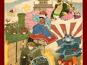 Early Feudal Japan Lesson Plan, Notes, Worksheet.  History 101