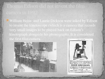 Early Film History from Edison to Lumiere
