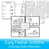 Printable Early Finisher Activities Bundle