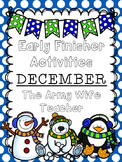 Early Finisher Activities : December