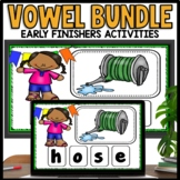 Early Finisher Activities (ELA Long and Short Vowel Words)