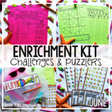 Early Finisher Activities | Math Enrichment | June END OF YEAR