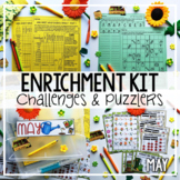 Early Finisher Activities | Math Enrichment | May