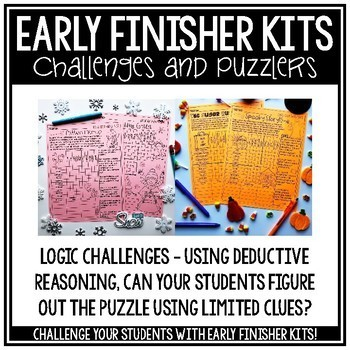 Math Enrichment Early Finisher Activities Enrichment Activities