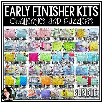 Early Finisher Activities | Math Enrichment BUNDLE