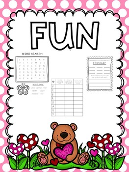 Early Finisher Activities : February