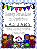 Early Finisher Activities : January