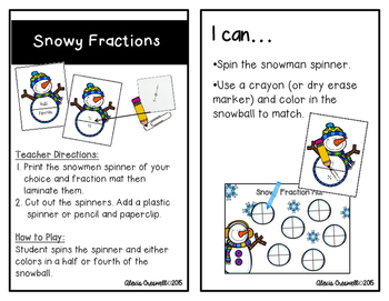 January Math Early Finisher Activities
