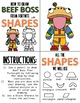 Early Finisher Activity - Draw with Shapes - FORTNITE BEEF BOSS