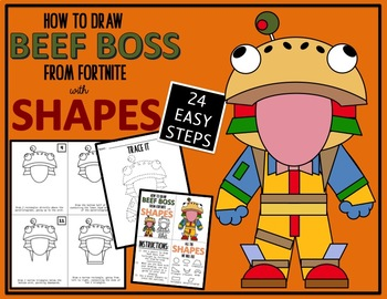 Early Finisher Activity Draw With Shapes Fortnite Beef Boss Tpt