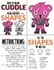 Early Finisher Activity - Draw with Shapes - FORTNITE CUDDLE TEAM LEADER