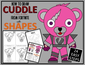 Early Finisher Activity Draw With Shapes Fortnite Cuddle