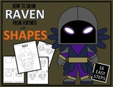 Early Finisher Activity - Draw with Shapes - FORTNITE RAVEN