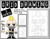 Early Finisher Activity - Fortnite DRIFT Grid Drawing